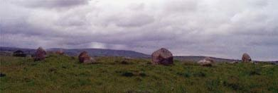 One of the Rathfranpark stone circles.